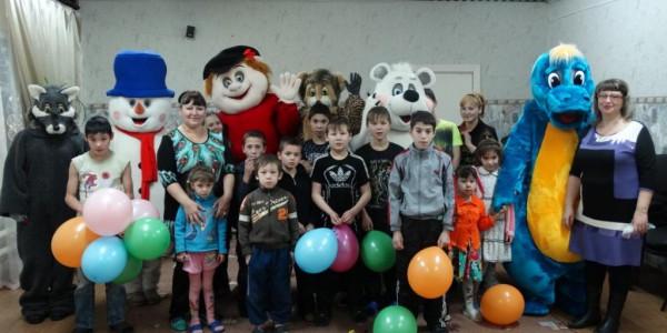 Агенство добрый день в приюте Забота с руководителем Н.В. Гавриловой в 2015 году