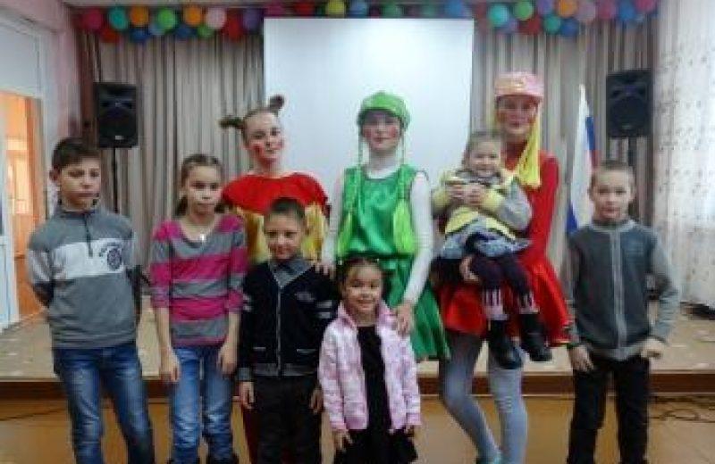 Участники АДД с детьми из приюта Забота