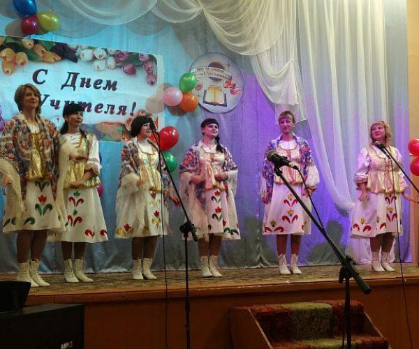Ивушка поздравляет учителей СШ им. В.П. Астафьева с днем учителя